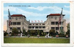 1921 Hotel Almendares front view