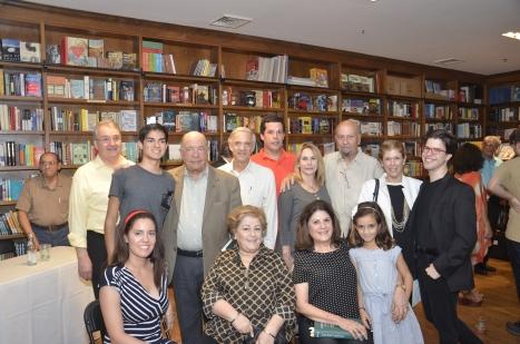Elena, Fernando, Sergio & Mercedes Capablanca with son José Raúl. Gloria, Alina & Rafael Palacios Capablanca
